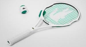 neuer Lacoste Tennischläger
