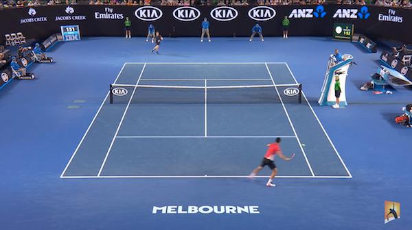 Australian Open 2016: die besten Ballwechsel, Szenen (Videos)