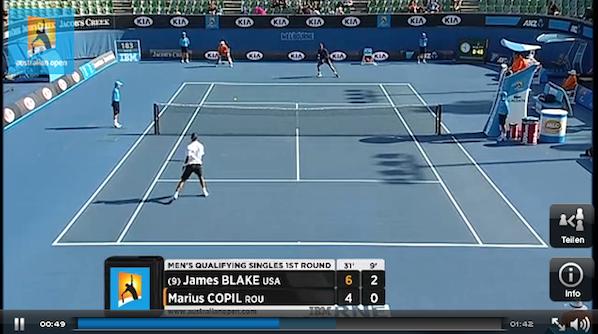 Australian Open 2013 im Live-Stream