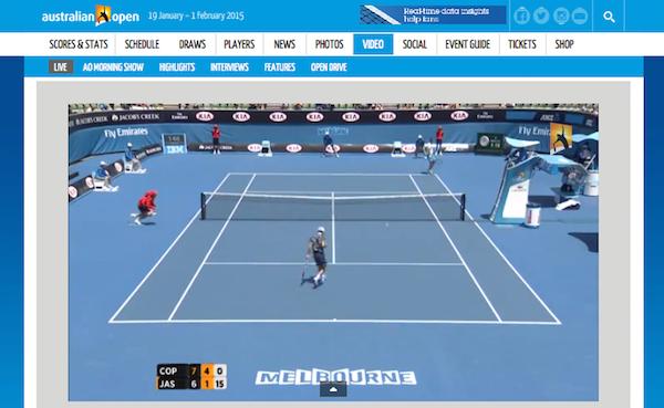 Australian Open 2015 im Live-Stream im Internet
