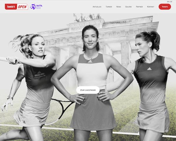 bett1open Berlin 2021: WTA-Rasentennis im Livestream & TV