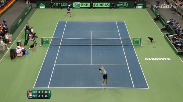 Davis Cup Deutschland-Tschechien im Live-Stream & TV