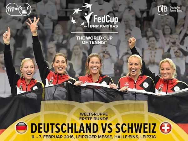 Fed-Cup Deutschland-Schweiz live im TV, Live-Stream