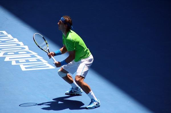 Nadal bei den Australian Open