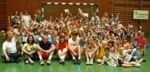 Ein voller Erfolg: Tennis-Kids-Day