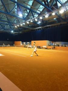 Closeup vom Stuttgarter Tennisturnier