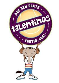 Das Maskottchen des Talentino-Clubs des BTV