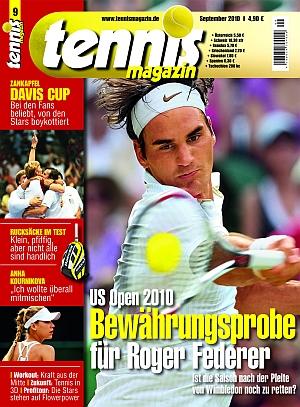 Cover aktuelles Tennis Magazin