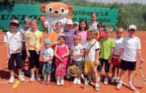 Tenniscamps für Kinder in den Ferien