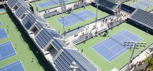 Plätze bei den US Open