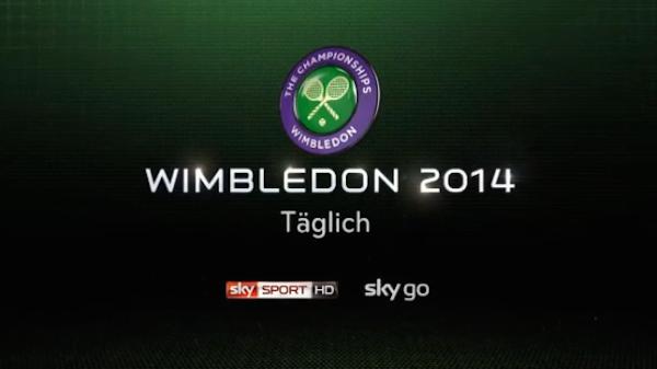 Wimbledon 2014 im TV, Live-Stream