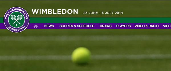 Wimbledon 2014: Datum, Termine