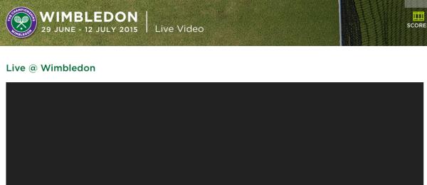 Offizieller Live-Stream aus Wimbledon