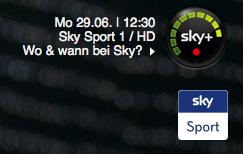 Wimbledon live im TV auf Sky